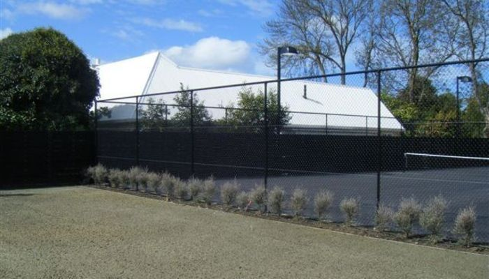 Tennis Court, Pool Fencing